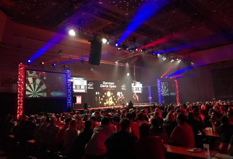 Referenz: Darts European Exhibition Tour 2019